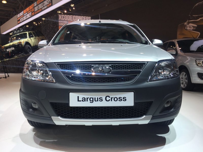 LADA Largus Cross на ММАС-2016