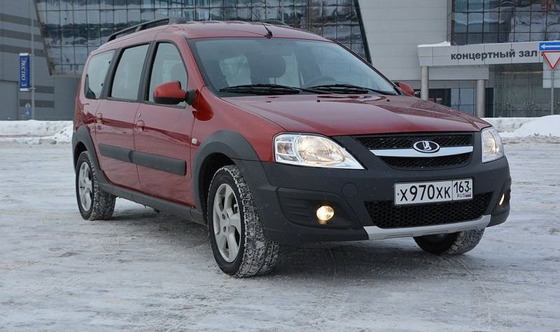 Тест-драйв LADA Largus Cross от портала «АвтоВзгляд»